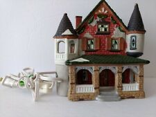 Holiday Expressions Victorian House Christmas Vintage