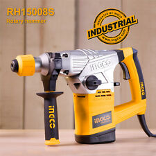 INGCO 1500W Rotary Hammer Electric Drill SDS Plus Concrete With Drill & Chisel