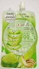 Smooto Aloe-E Snail Bright Gel Soothing Moisture Aloe Vera 99.5% (50ml.)