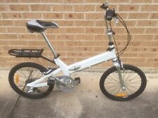 "Folding bicycle.GIANT HALFWAY 20"" in excellent condition. Good tyres, 7 speed."