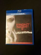 Fright Night 2 ,New Blood  Unraited, Blu Ray Only, No DIGITAL Copy, Or DVD,