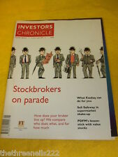 INVESTORS CHRONICLE - STOCKBROKERS ON PARADE - JUNE 25 1999