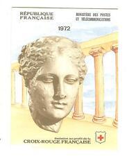 CARNET CROIX ROUGE 1972 NEUF ** SANS CHARNIERES