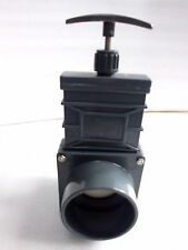 Zugschieber 75 mm PVC