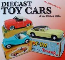 LIVRE NEUF : voiture miniature années 50 60 dinky,corgi,solido,CIJ,gama,toy cars