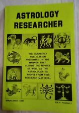 Vintage : Astrology Researcher Periodical - Spring 1980 Issue
