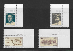 1983 South West Africa - Discovery of Diamonds - Full Set in Corners - MNH.