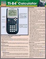 TI-84 PLUS CALCULATOR - BARCHARTS, INC. (COR) - NEW BOOK