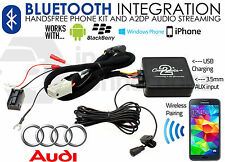 Audi A4 streaming Bluetooth Chiamate Vivavoce AUX MP3 iPhone iPod Sony HTC 2007 su