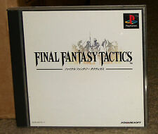 Final Fantasy Tactics Playstation Import With Obi