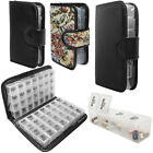 Daily Weekly Pill Box Organizer Medicine Travel Case 7 and 14 Day AM PM Planner