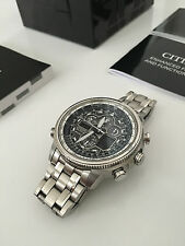 "Limited Edition Citizen Navihawk ""Atomic Timekeeping"" Solar Powered Mens Watch"