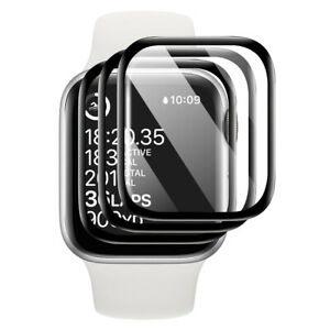 Soft PMMA+TPU Film 3D Curved Screen Protector For Apple Watch Series 4 5 6 SE E