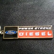 Ford Powerstroke Diesel (nicely painted metal)keychain (B4)