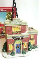 St Nicholas Square WXMS Holiday Hits Radio Station Retired 2005 Illuminated Xmas