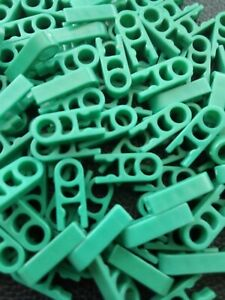 Micro K'Nex Rod Clips With Hole End Teal Green x 25 DW2114 Job Lot Christmas