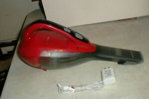Black & Decker HLVA320J Dustbuster Handheld Vacuum Cordless Chili Red