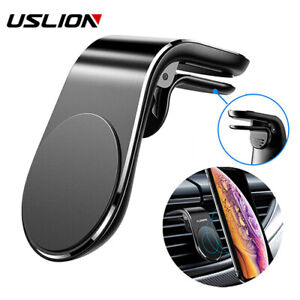 Universal Magnetic In Car Phone Holder Air Vent Mount Fits All Black Silver NEW