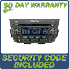 05 06 ACURA MDX Navigation GPS System Radio Stereo 6 Disc Changer CD Player