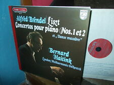 LISZT: Piano concertos n°1 & 2 + Totentanz   Brendel Haitink /Philips stereo LP