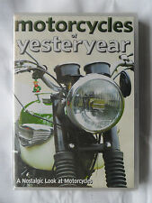 MOTORCYCLES OF YESTERYEAR DVD TRIUMPH BSA ARIEL RUDGE AJS ROYAL ENFIELD MATCHLES
