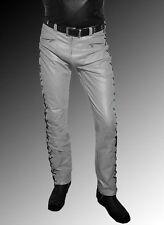 30 Herrenhosen aus Leder in Plusgröße Hosengröße