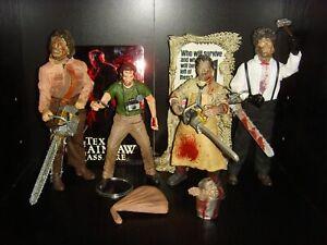 The Texas Chainsaw Massacre Figure Bundle - NECA, Mezco & Mcfarlane