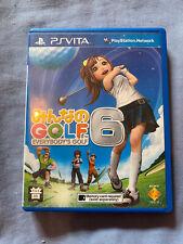 Everybody's Golf 6-Sony PSVita-Japonais Jeu-GRATUIT UK POST.
