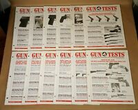 Gun Tests Consumer Magazine Lot of 12 Issues Complete January - December 1999