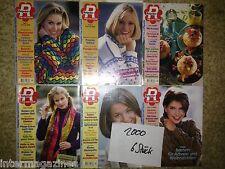 Magazine Ratgeber Frau und Familie,Jahrgang 2000(6 Hefte)Kochen/Backen,Gesundhe