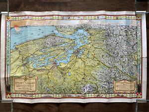 Evergreen Playground Print Reproduction of Seattle by Kroll Map Company