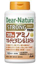 Asahi Dear Natura Amino Multi Vitamin Mineral 39 Strong 300grains Health Japan