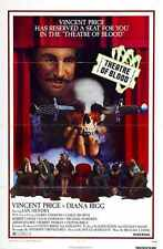 Theatre Of Blood Poster 01 A2 Box Canvas Print
