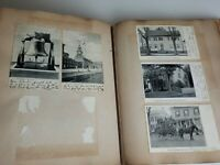 Album 160+ Lot Of Antique Vintage  Postcards And Photos Used With Writing 1905