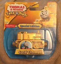 Thomas & Friends Train Gold Special Edition Die Cast 2015 Take n Play NEW