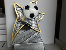 "Soccer trophy or award, about 6"" tall, engraving included, Great New Design!"