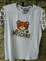 MOSCHINO COUTURE LADIES TOP SIZE XL 100% COTTON