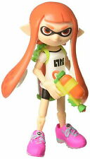 "World of Nintendo 4"" Action Figure Wave 10  Splatoon Inkling Girl with Blaster"