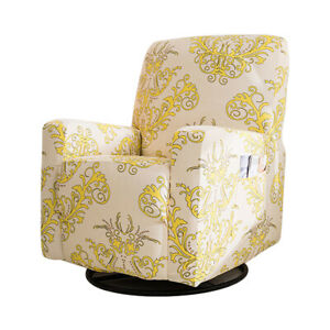 Printing Elastic Recliner Chair Cover Massage Sofa Cover Furniture Protector