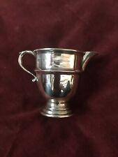 Hallmarked Solid Silver Cream Jug Birmingham 1930 Excellent Condition.1.5 Troyoz