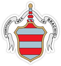 Cremona stemma coat of arms Italy città Italia etichetta sticker 10cm x 11cm