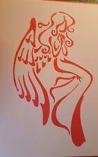 1270 Schablonen Engel Vintage Stanzschablonen Shabby Wandbild Stencil Mylarfolie
