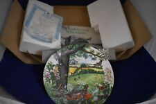 """Wedgewood """"Meadows and Wheatfields' by Colin Newman 8.25"""" Collector's Plate"""