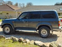 TOYOTA  LANDCRUISER 80 SERIES 4.2TD LIMITED EDITION 1992