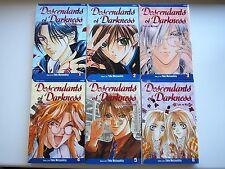 Descendants of Darkness manga Yami no Matsuei - shoujo shounen ai BL yaoi