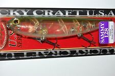 "lucky craft sammy 128 topwater lure 5"" 1oz floating ghost lake mead walk the dog"