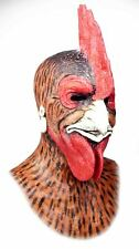 "Silicone Mask ""Mr  Rooster"" Hand Made, Halloween High Quality, Realistic,"