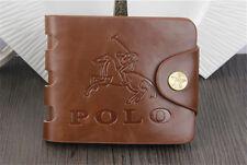 Men's Wallet Leather Bifold Credit/ID Cards Holder Slim Money Purse FREE SHIP UK