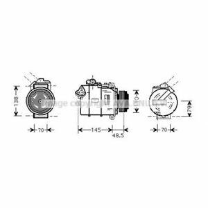 Kompressor, Klimaanlage  PRASCO  BWAK309