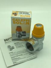 """Caleffi Solar Safety VALVE DN15 (½"""") Ig X DN20 (¾"""") Ig X 6 BARRA N º 253046"""